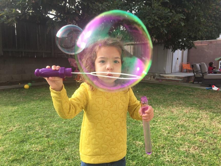 She's Three! My Threenager of MassDestruction.