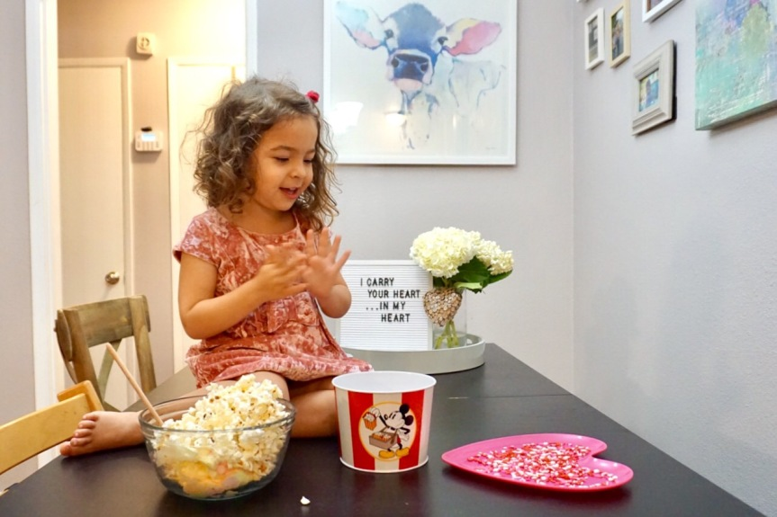 Binkie Bites: Valentine PopcornBalls
